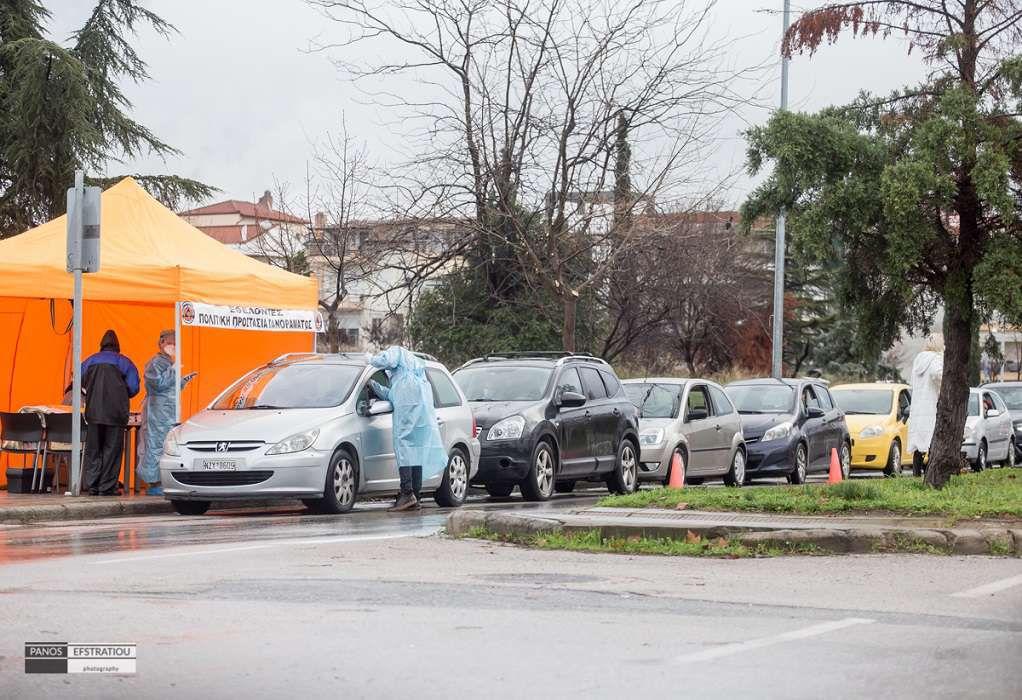 Συνεχίζονται τα rapid tests και σήμερα στον δήμο Πυλαίας-Χορτιάτη