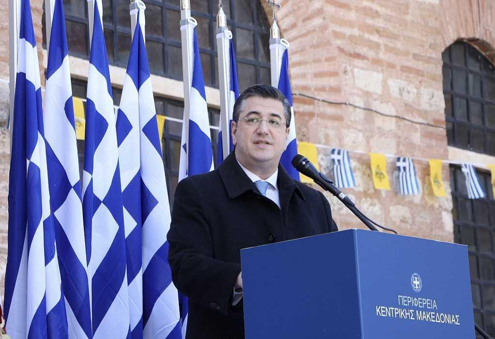 Επίσκεψη Απ. Τζιτζικώστα στο έργο σύνδεσης του αποχετευτικού δικτύου Δενδροποτάμου με τον βιολογικό της Θεσσαλονίκης