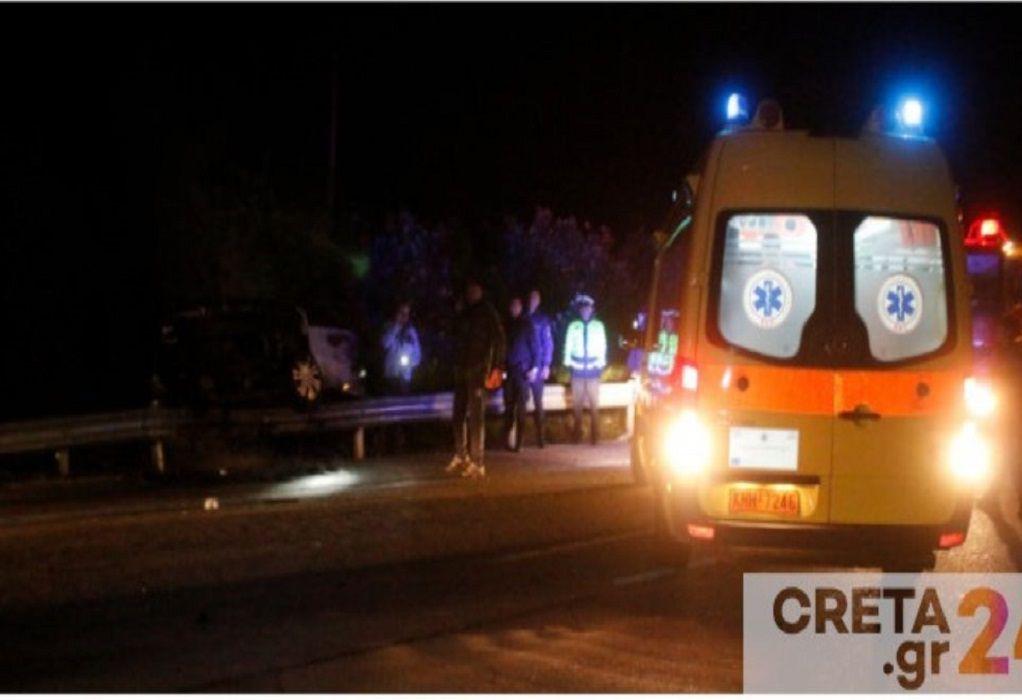 Νεκρός 34χρονος σε τροχαίο στην Κρήτη