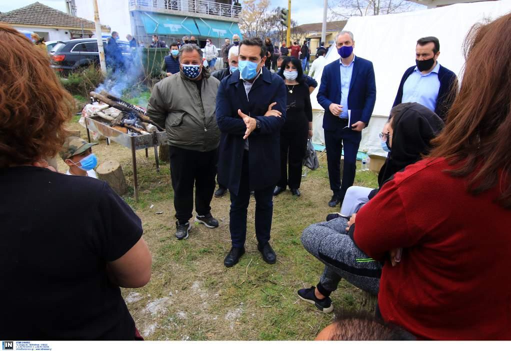 Τσίπρας: Προέχει η άμεση αποζημίωση των σεισμόπληκτων