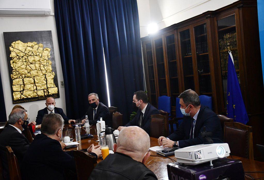Σύσκεψη εργασίας για την επίλυση του κτηριακού ζητήματος των δικαστηρίων Θεσσαλονίκης