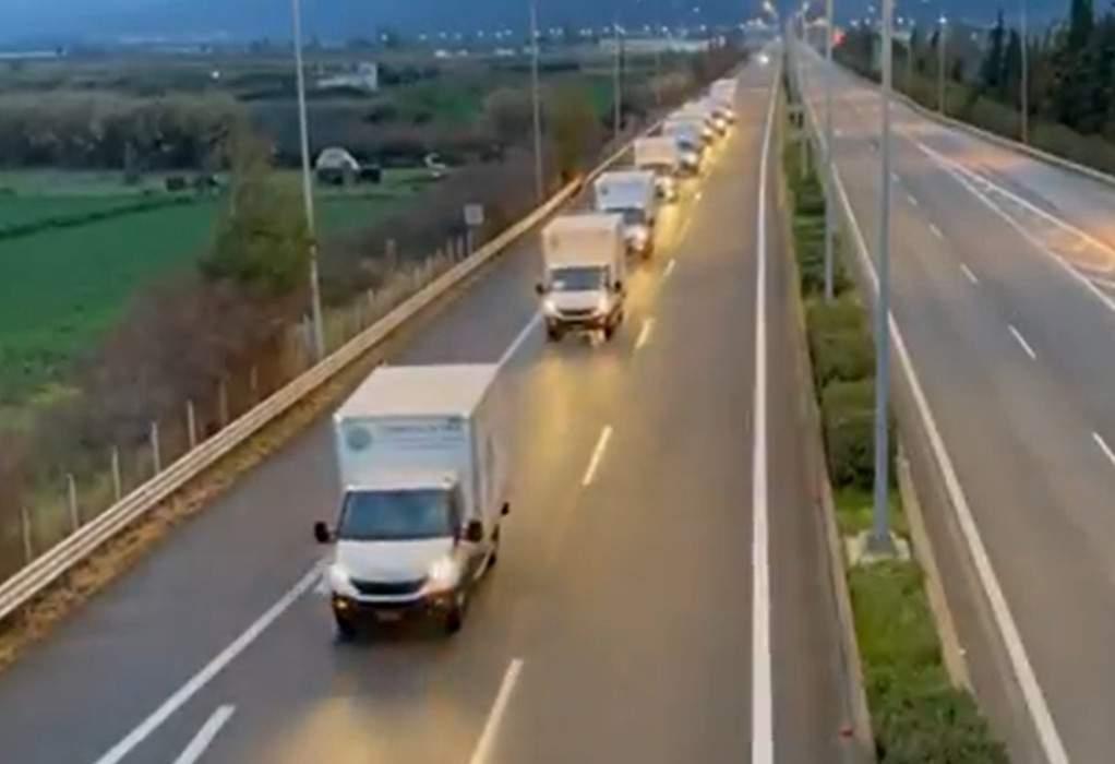 Η Περιφέρεια Αττικής κοντά στους σεισμόπληκτους της Λάρισας