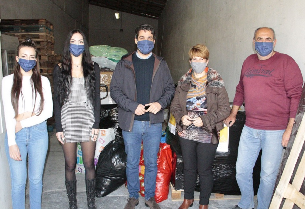 Δήμος Χανίων: Πέντε παλέτες με τρόφιμα και είδη ανάγκης στους σεισμόπληκτους