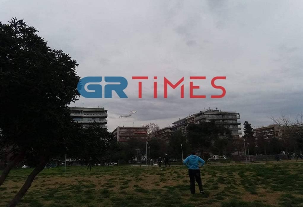 Θεσσαλονίκη: Στην παραλία για το πέταγμα του χαρταετού (ΦΩΤΟ)