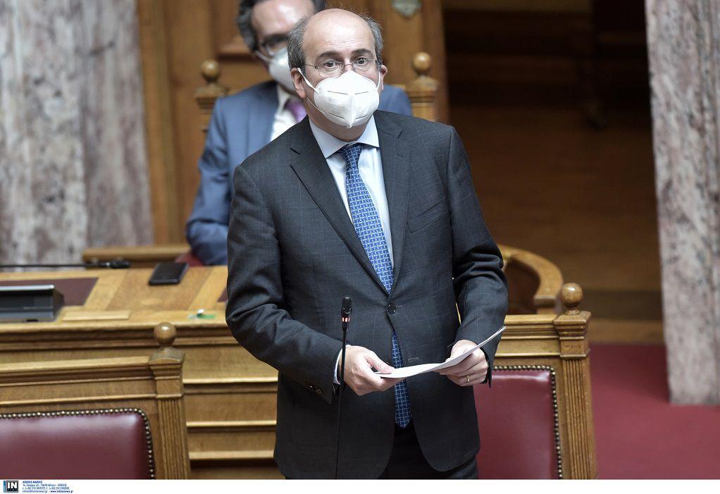 Κ. Χατζηδάκης: Πρέπει να χρησιμοποιήσουμε όλα τα όπλα για να είναι το κράτος εντάξει απέναντι στους συνταξιούχους