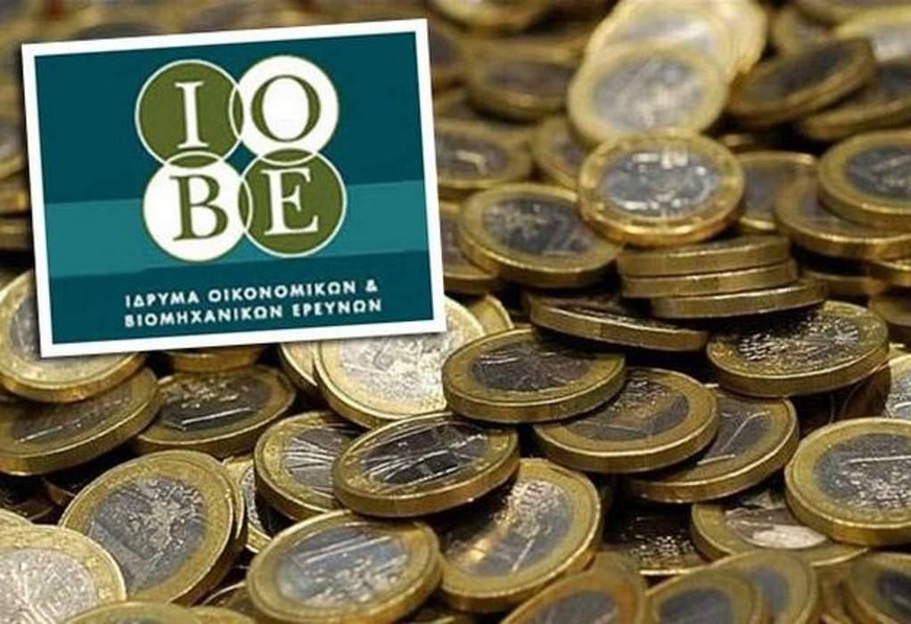 ΙΟΒΕ: Μικρή βελτίωση του οικονομικού κλίματος