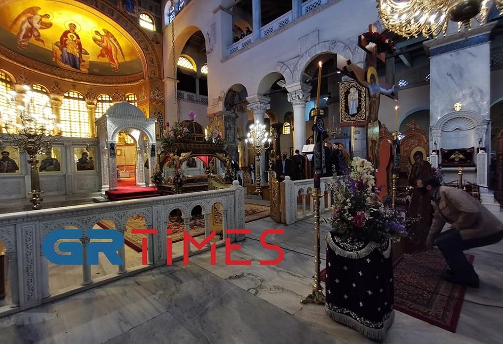 Θεσσαλονίκη: Με ευλάβεια και μέτρα το προσκύνημα στις εκκλησίες (VIDEO)