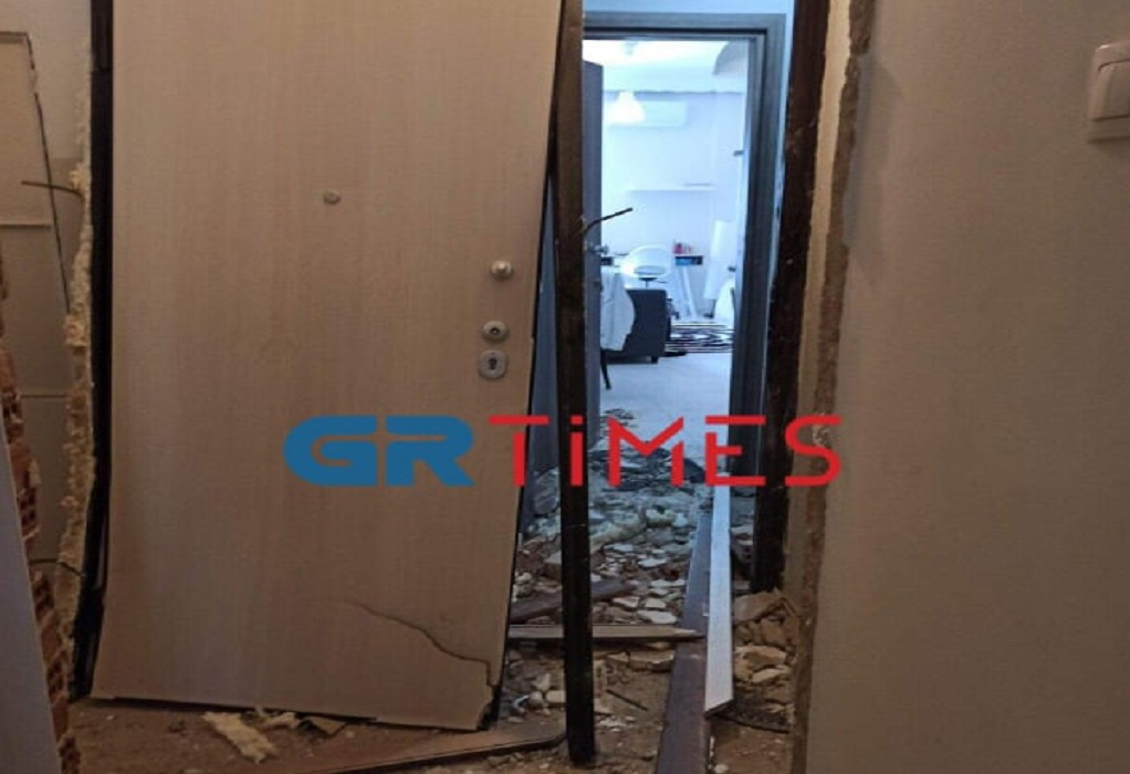 Θεσ/νίκη: Έκρηξη από γκαζάκι ισοπέδωσε διαμέρισμα (ΦΩΤΟ)