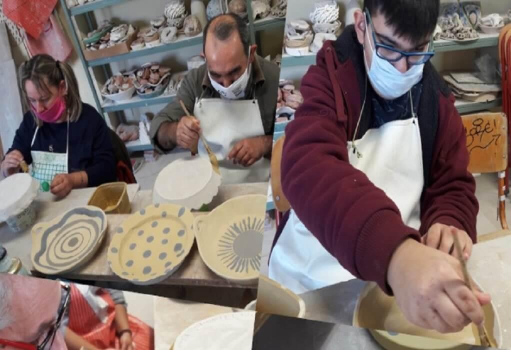 Πέλλα: Μαθητές του ΚΔΑΠΜΕΑ φτιάχνουν κεραμικά αγγεία