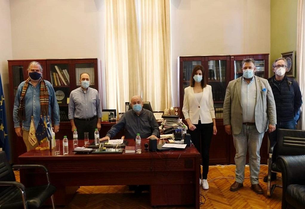 Συνάντηση Ζορπίδη – Νοτοπούλου για την Κανονιστική Πράξη Χρήσης των Κοινόχρηστων Χώρων