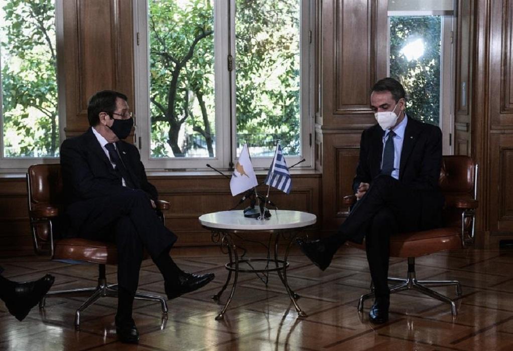 LIVE οι δηλώσεις του Πρωθυπουργού Κ. Μητσοτάκη και του Προέδρου της Κυπριακής Δημοκρατίας Ν. Αναστασιάδη