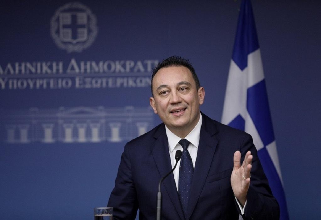 Βλάσης: Λύση του Κυπριακού στη βάση των Ψηφισμάτων Ασφαλείας του ΟΗΕ