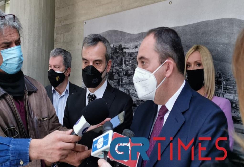 Πλακιωτάκης: Μόνιμη σύνδεση Θεσσαλονίκης – Αιγαίου (VIDEO)