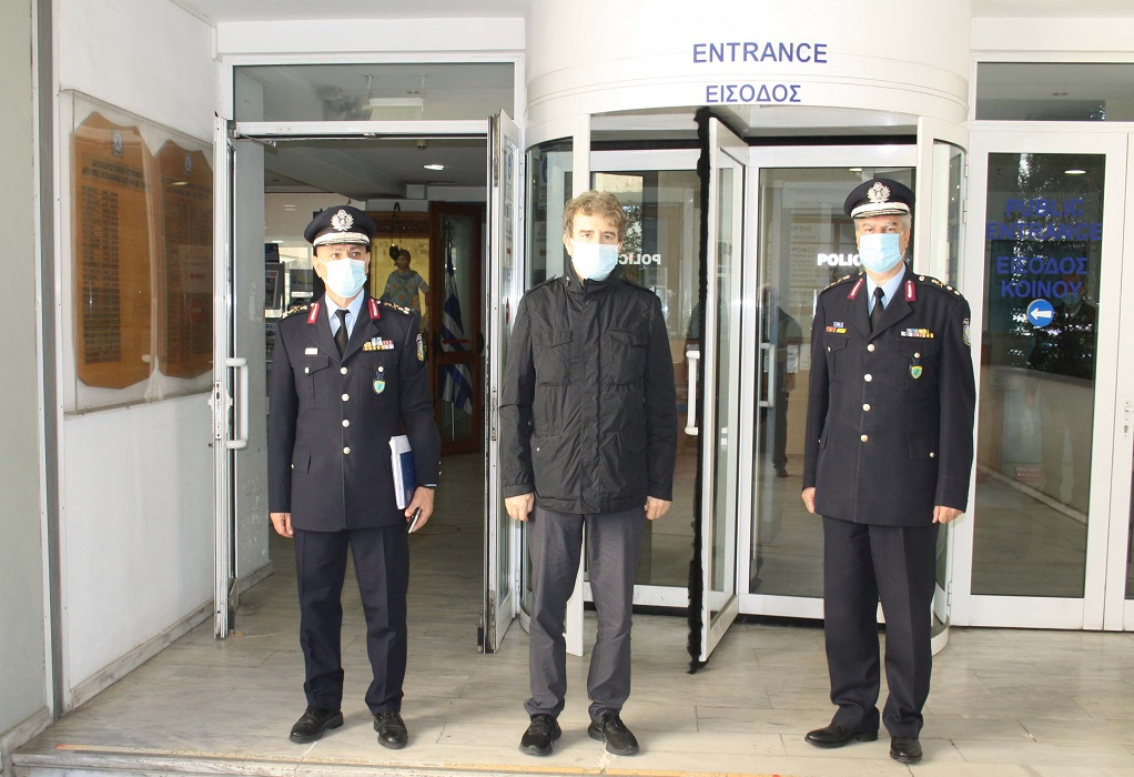 Επίσκεψη του Μιχάλη Χρυσοχοΐδη στη Θεσσαλονίκη