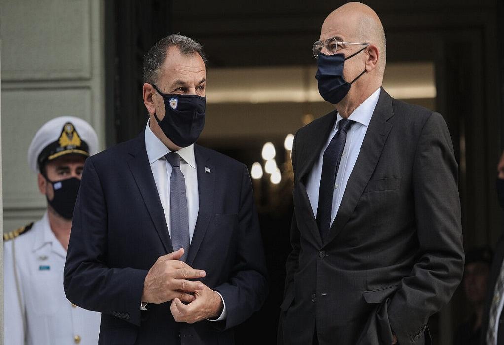 Δένδιας – Παναγιωτόπουλος στην κοινή συνεδρίαση του ΝΑΤΟ