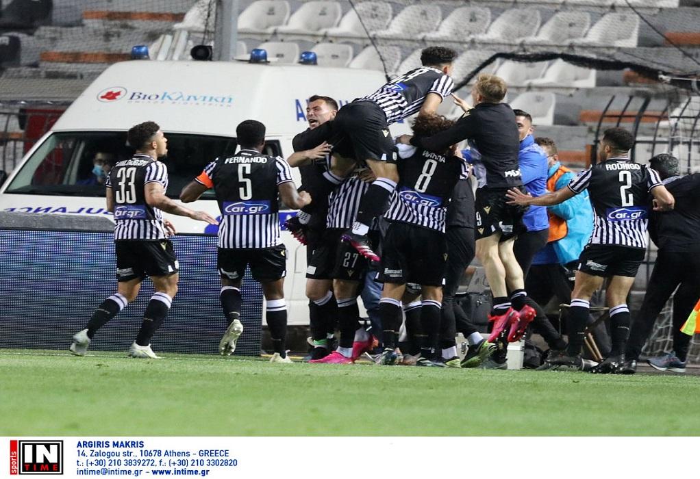 Στον τελικό ο ΠΑΟΚ, 2-1 την ΑΕΚ με ανατροπή