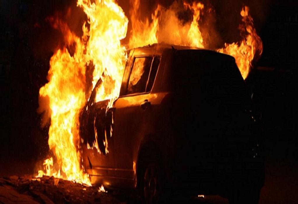 Πυρκαγιά σε αυτοκίνητο στην Ευκαρπία