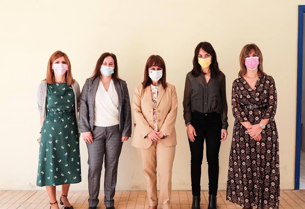Στον Ξενώνα Γυναικών Θυμάτων Βίας η Κατ. Σακελλαροπούλου