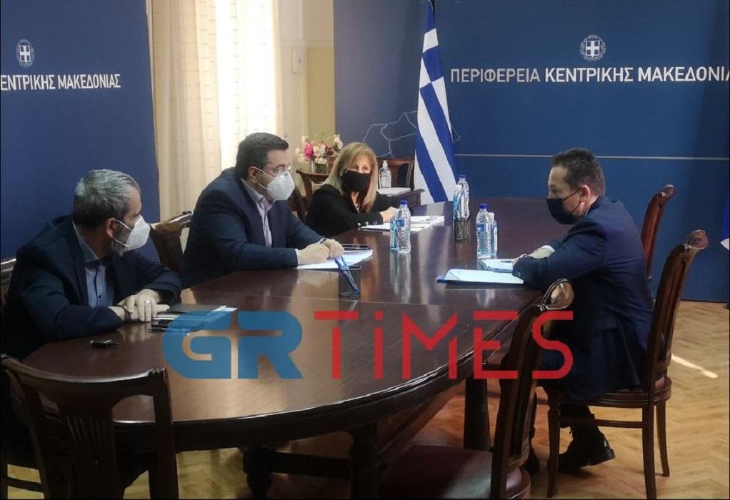 """ΠΚΜ: Τρία νέα έργα 28 εκ. ευρώ μέσω του """"Αντ.Τρίτσης"""" ανακοίνωσαν Πέτσας-Τζιτζικώστας"""
