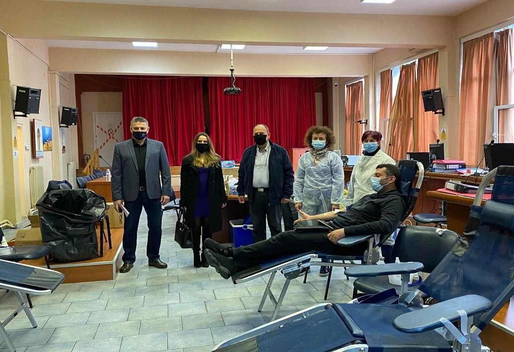Δ. Ωραιοκάστρου: Μήνυμα αλληλεγγύης και αισιοδοξίας από εθελοντές αιμοδότες