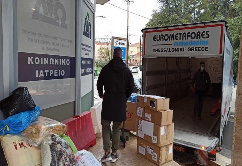 Δ. Ωραιοκάστρου: Αποστολή ανθρωπιστικής βοήθειας στους σεισμοπαθείς της Θεσσαλίας