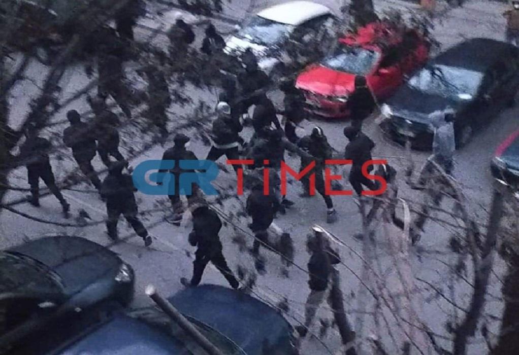 """Βροχή και αστυνομία απέτρεψαν """"ραντεβού"""" οπαδών ΠΑΟΚ και Άρη (ΦΩΤΟ)"""