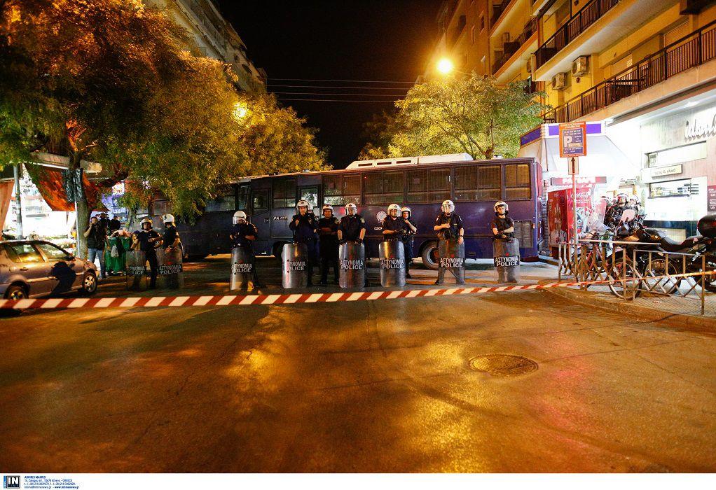 Ένταση με την αστυνομία στην μοτοπορεία των οπαδών του ΠΑΟΚ