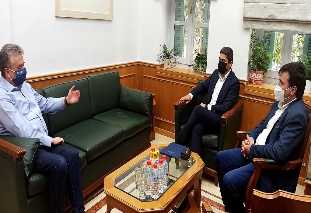 Αυγενάκης – Αρναουτάκης: Συνάντηση για τις αθλητικές υποδομές στην Κρήτη
