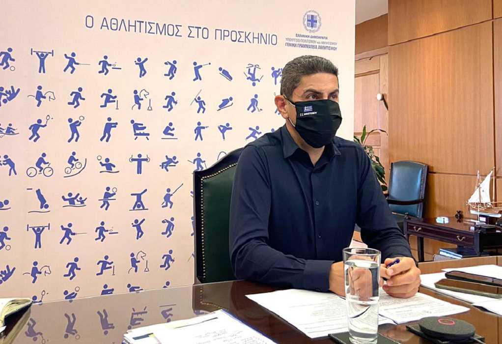 Λ. Αυγενάκης: «Αναπτύσσουμε ακόμα πιο στενή συνεργασία με την Ομοσπονδία Κωφών