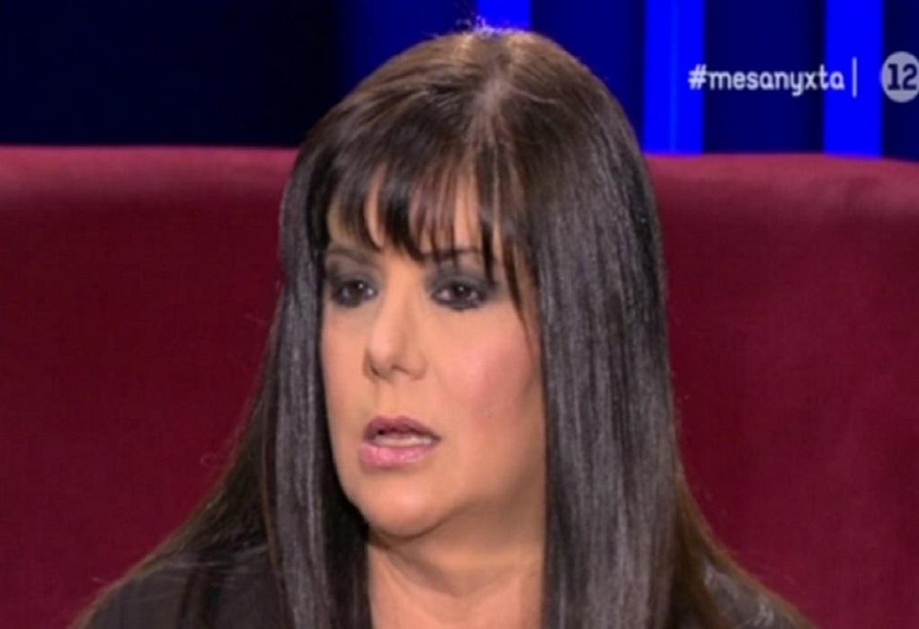 Βάσια Παναγοπούλου: Έχω ακούσει πολλά που δεν έδιωξα τον ηθοποιό και δεν πήρα θέση