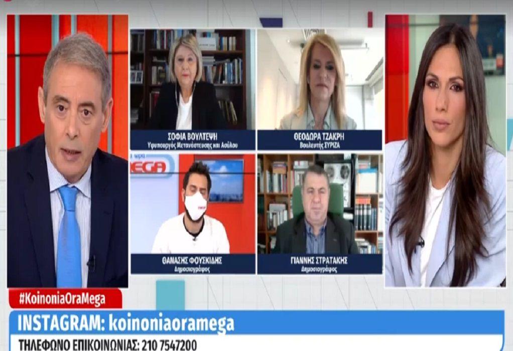Κόντρα Βούλτεψη – Τσάκρη on air για την ψήφο των αποδήμων (VIDEO)