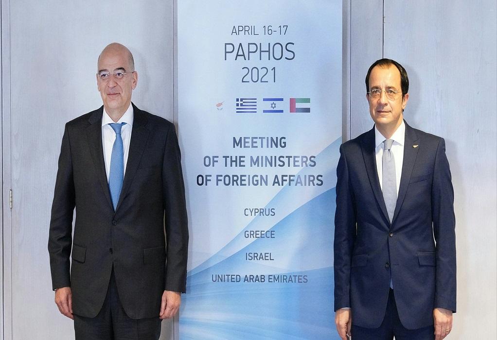 Κύπρος: Συνάντηση Ν. Δένδια με τον Ν. Χριστοδουλίδη