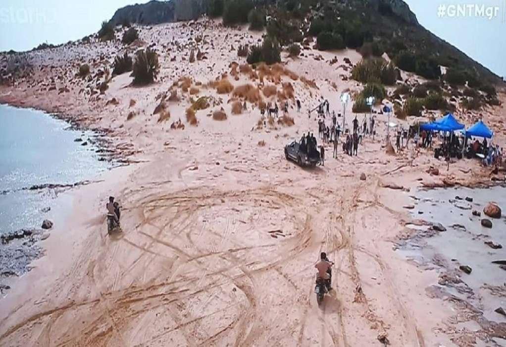 GNTM: «Καμπάνα» 3.000 ευρώ για γυρίσματα σε προστατευόμενες παραλίες στην Ελαφόνησο