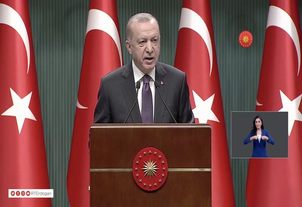Ερντογάν: Ανεπιθύμητοι θα κηρυχθούν πρεσβευτές 10 χωρών που κινητοποιήθηκαν υπέρ του Καβαλά
