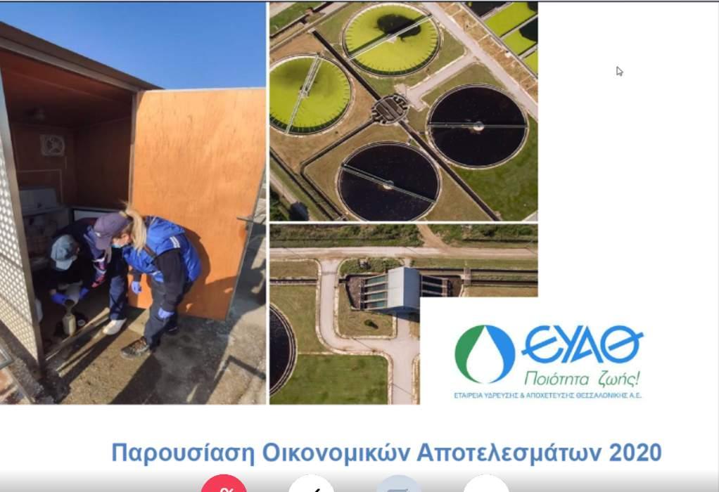 ΕΥΑΘ: Επενδύσεις 188 εκ. ευρώ και μέρισμα 0,223 ευρώ/μετοχή