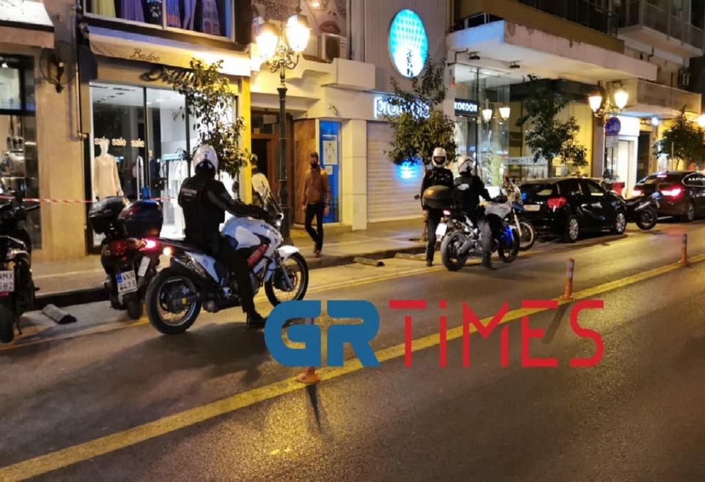Συνωστισμός με… κοκτέιλ ξανά στη Θεσσαλονίκη – Επέμβαση της ΕΛΑΣ (VIDEO)