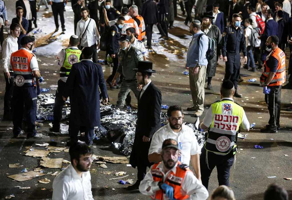 Τραγωδία στο Ισραήλ: Υποχώρησε εξέδρα σε θρησκευτική γιορτή – Τουλάχιστον 44 νεκροί