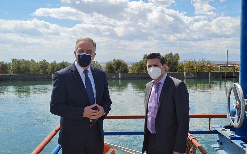 Καλαφάτης: Αναβαθμισμένες υπηρεσίες ύδρευσης στους Θεσσαλονικείς