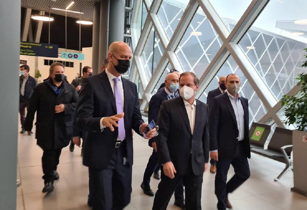 """Καραμανλής: Η Fraport """"απογειώνει"""" το αεροδρόμιο Μακεδονία (ΦΩΤΟ)"""