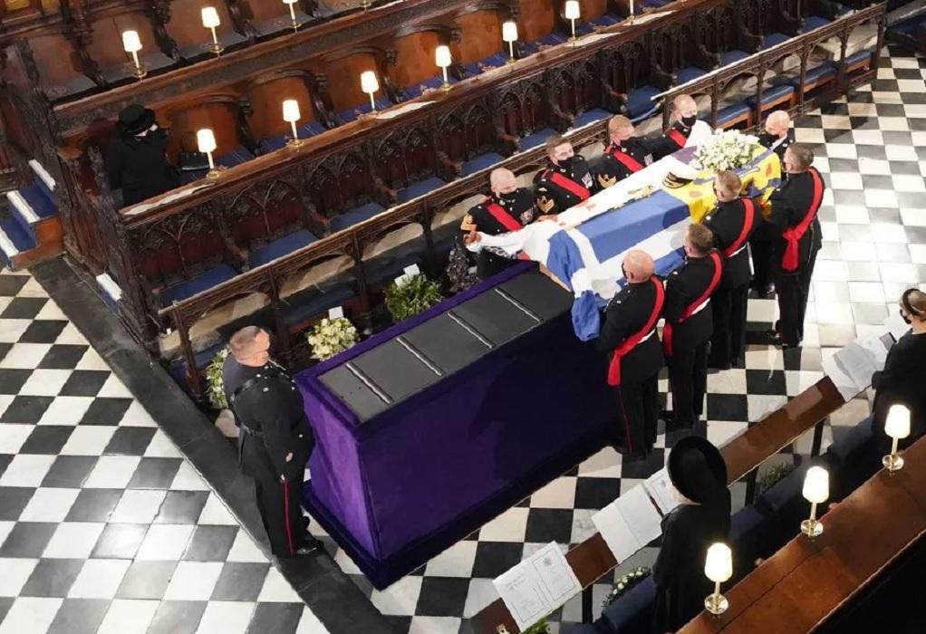 Οι Βρετανοί αποχαιρέτησαν τον πρίγκιπα Φίλιππο