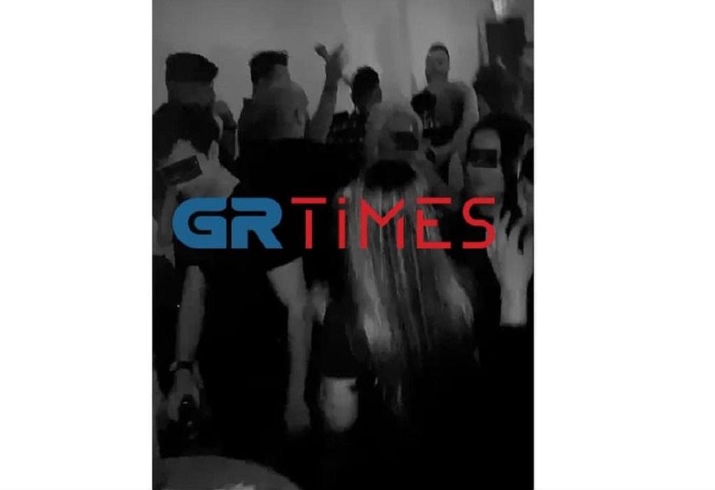 Θεσ/νίκη: Κορωνοπάρτι και συνωστισμός σε κλειστό χώρο χωρίς μάσκες (ΦΩΤΟ)