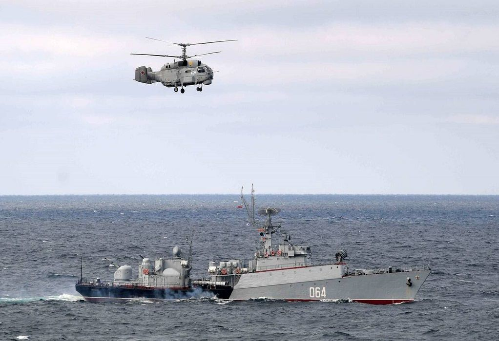 Μυρίζει μπαρούτι η Μαύρη Θάλασσα: Bρετανικά σκάφη στην περιοχή υπέρ Ουκρανίας