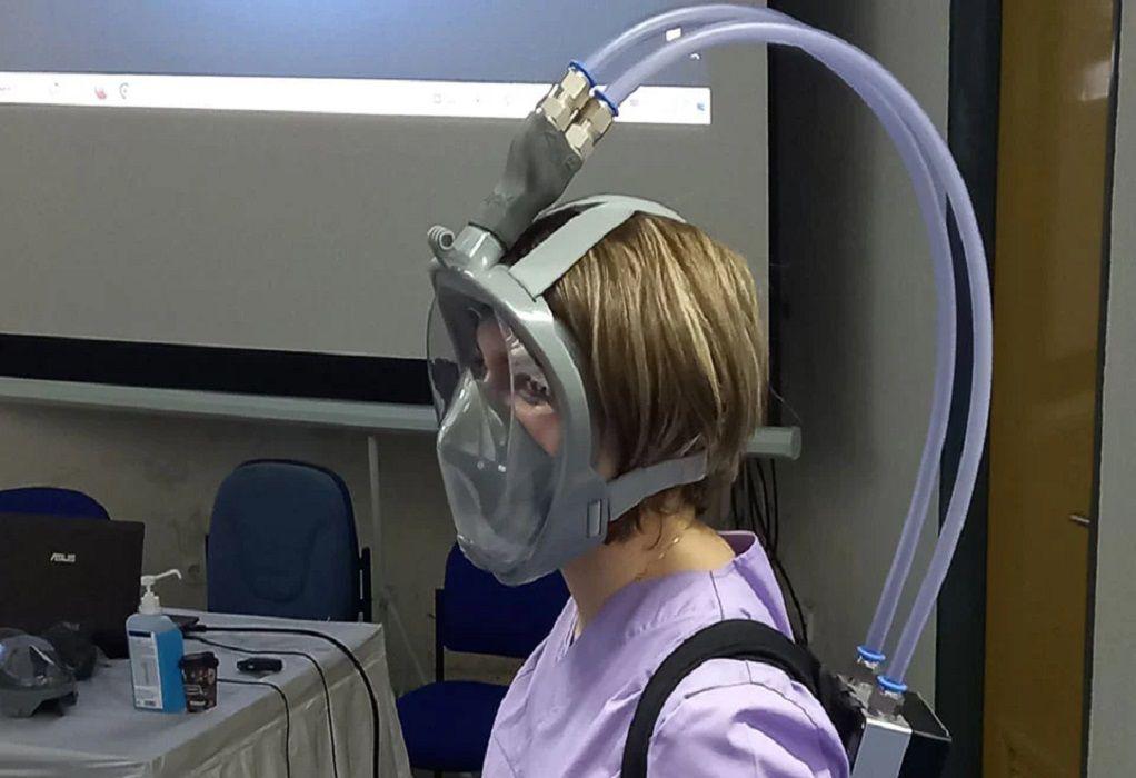 Στο Μποδοσάκειο Νοσοκομείο η πρώτη μικροβιοκτόνος μάσκα κατά του κορωνοϊού