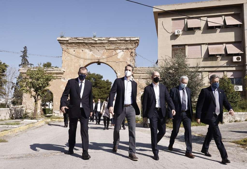 Κ. Μητσοτάκης: Φιλόδοξο σχέδιο αστικής ανάπλασης στην παλιά ΠΥΡΚΑΛ στον Υμηττό