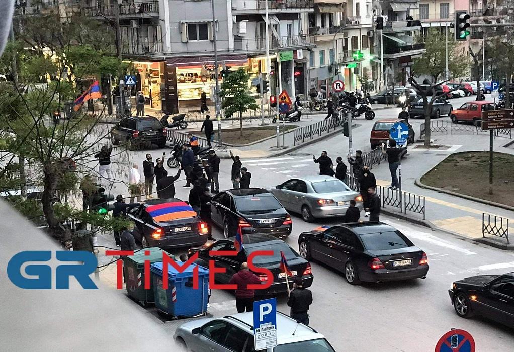 Θεσ/νίκη: Μηχανοκίνητη πορεία για την Γενοκτονία των Αρμενίων (ΦΩΤΟ+VIDEO)