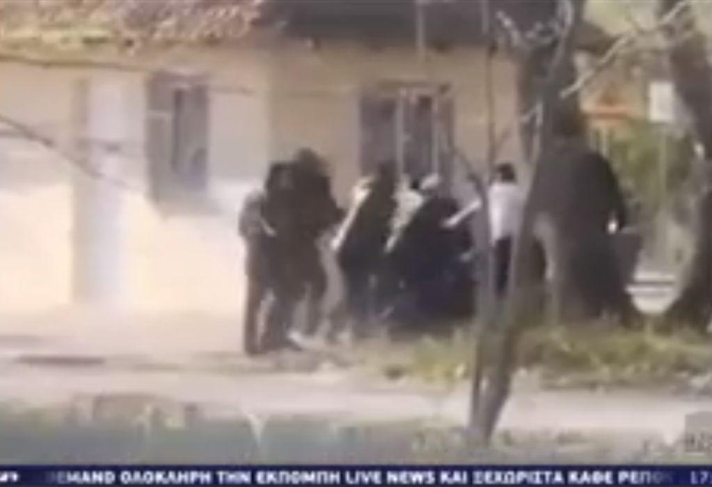 Κατερίνη: Ξυλοδαρμό από αστυνομικούς καταγγέλλουν πατέρας και γιος (VIDEO)