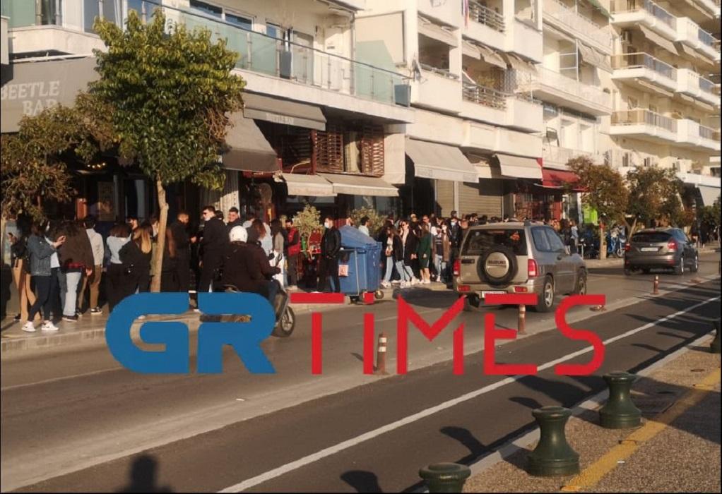 Ουρές για ποτό και καφέ στη Θεσσαλονίκη (ΦΩΤΟ+VIDEO)