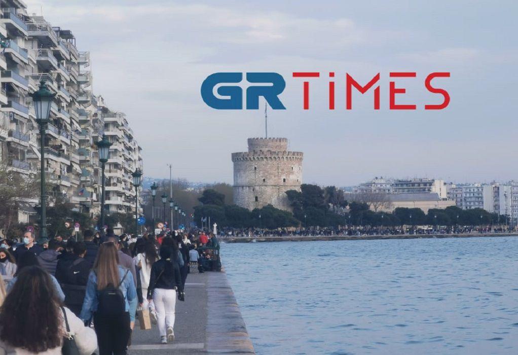Κοσμοσυρροή στην παραλία της Θεσσαλονίκης (ΦΩΤΟ+VIDEO)