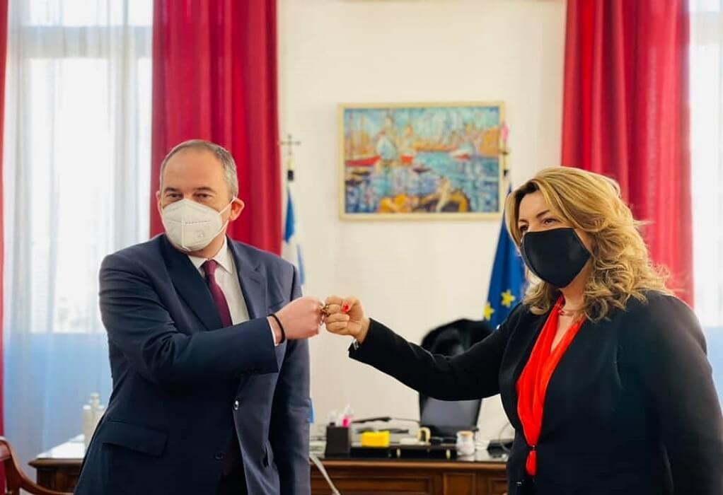 Θεσσαλονίκη: Συνάντηση Γ. Πλακιωτάκη με Μ. Αντωνίου