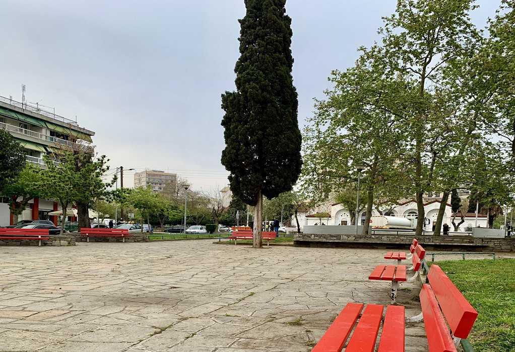 Θεσσαλονίκη: Επιχείρηση του δήμου για την ανάπλαση της πλατείας Γαλοπούλου (ΦΩΤΟ)